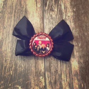 RATT HEAVY METAL 80's ROCK N ROLL HAIR BOW
